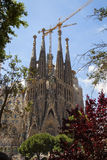 The well-known church of Gaudi Stock Image