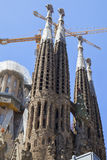 The well-known church of Gaudi Royalty Free Stock Photography