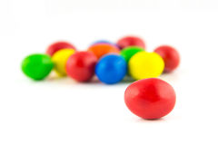 Well known colorful candies Royalty Free Stock Image