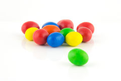 Well known colorful candies Royalty Free Stock Photo