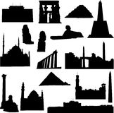 Well-known Egypt architecture Stock Image