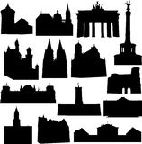 Well-known Germany architecture Royalty Free Stock Photography