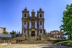 Well Known Iglesia de San Ildefonso Church, Porto Stock Images