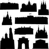 Well-known Russia architecture Royalty Free Stock Images