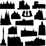 Well-known Spain architecture Stock Photos