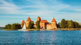 Well-known Trakai castle Stock Image