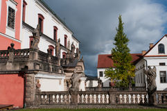 Well-maintained Monastery Royalty Free Stock Photo