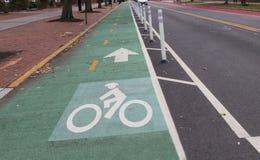 A bicycle Lane Royalty Free Stock Photo