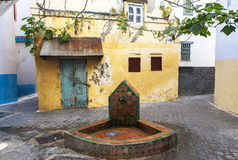 A well of Medina in Tangier, Morocco Stock Photos