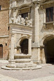 Well in Montepulciano - Italy Royalty Free Stock Photography