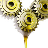 Well-Oiled Gears Teamwork Concept 3d Illustration Royalty Free Stock Images