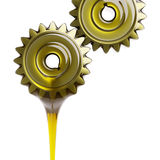Well-Oiled Gears Teamwork Concept 3d Illustration Royalty Free Stock Photography