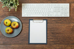 Well organized desk Royalty Free Stock Photos