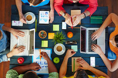 Well organized discussion Royalty Free Stock Image
