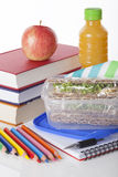 Well prepared school lunch Royalty Free Stock Photo