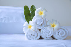 Well prepared spa in luxury hotel Stock Image