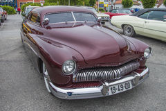 Well preserved 1949 mercury coupe custom Royalty Free Stock Photo