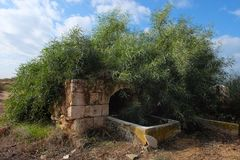 Well of Reuven religious landmark. Royalty Free Stock Photography