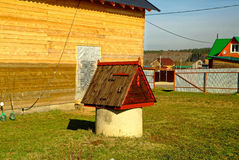 Well in rural area in Russia Stock Photography