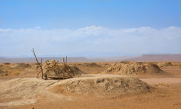 A well in Sahara Stock Photo