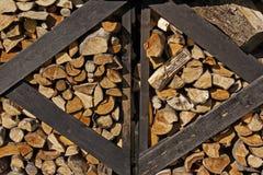 Well seasoned firewood Royalty Free Stock Photos