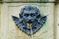 The wells of Nancy/France royalty free stock photography