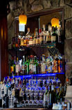 A well stocked bar Stock Images