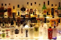 Well stocked bar Stock Photo