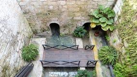 WELL-Torremolinos -Botanic gardens-Molino del Inca-Andalusia Stock Image