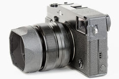 Well used, retro style, viewfinder camera Royalty Free Stock Images