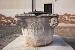 A well in Venice, Italy from 1059 Stock Image