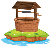 A well and water Stock Image