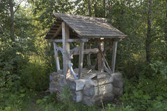 Free Well With Spring Water Near The Road By Tract Sukhonsky Into The Village Gorodischna Stock Photo - 86209840