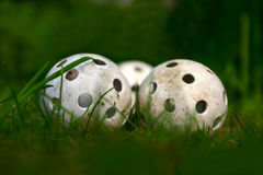 Well Worn Balls Stock Image