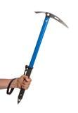Well worn ice axe, life saving mountaineering tool Stock Photography