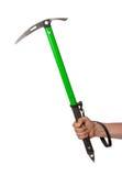 Well worn ice axe, life saving mountaineering tool Royalty Free Stock Photography