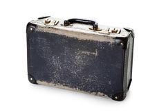 Well worn vintage suitcase Royalty Free Stock Photo
