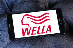 Wella logo Stock Image