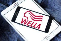 Wella logo Royalty Free Stock Image