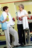 Wellbeing after retirement Stock Photography