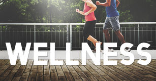 Wellbeing Running Relaxing Carefree Enjoyment Concept Royalty Free Stock Photo