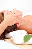 Wellbeing spa wellness massage Stock Images