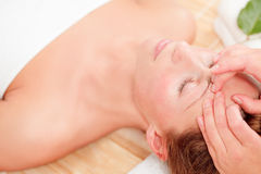 Wellbeing spa wellness massage royalty free stock images
