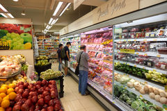 Wellcome grocery store in Kennedy Town Royalty Free Stock Photography