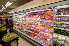 Wellcome grocery store in Kennedy Town Stock Photography