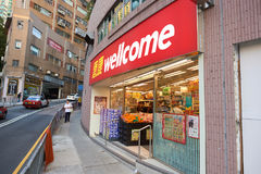 Wellcome grocery store in Kennedy Town Royalty Free Stock Photo