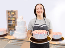 Wellcome to my patisserie Stock Image