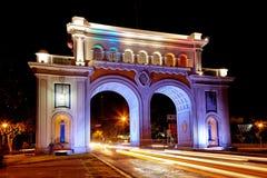 Wellcome vers dans Guadalajara Images stock
