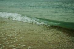 Welle auf dem Schwarzen Meer lizenzfreies stockbild