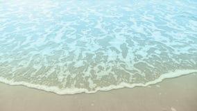Welle auf dem Strand Stockfoto
